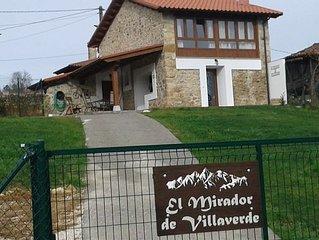 Casa rural (alquiler integro) El Mirador de Villaverde para 5 personas