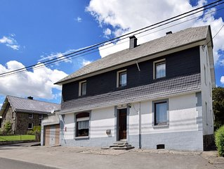 Spacious house with garden, in beautiful location between Ardennes, Eifel and Hi