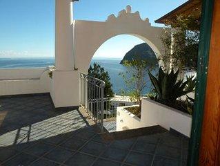 LIPARI, ISOLE EOLIE, Appartamento panoramico a 750mt dalla spiaggia di Canneto