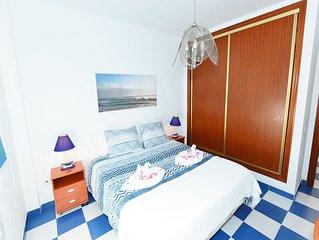 Casa La Molina- 100 metros del mar. Free Wifi