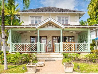 Family Friendly, Self Catering Villa, Close To Beach And Holetown