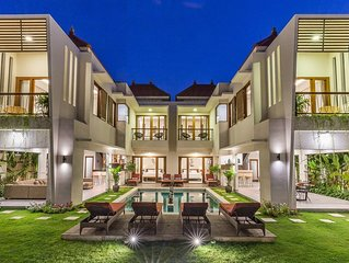 NEW 6BR LUX Villa, Oasis, 500m to beach, NUSA DUA