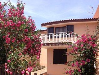 la Casa del Sole, Isola Rossa, Sardegna