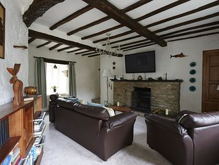 A beautiful family holiday cottage with lots of character in an idyllic village