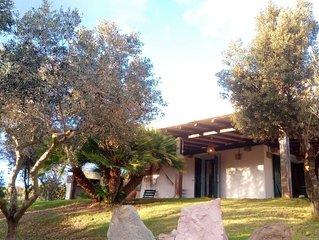 Spacious villa with nice sea view