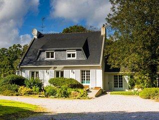 Belle maison de campagne, idéale pour les rassemblements de famille ou d'amis.