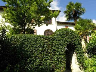 Nature and comfort in house dated 1700 with huge garden and amazing lake view