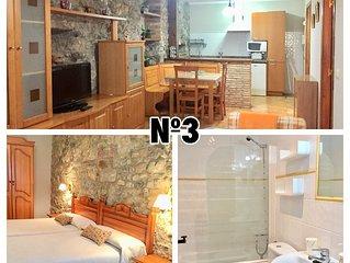 Apartamentos El Carril N03  un dormitorio y sofa cama (2/4 personas)Llanes-Cue