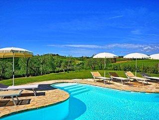 Villa in Montefalconi with 3 bedrooms sleeps 6