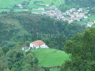 Casa rural (alquiler íntegro) Aldabeko Borda para 4 personas