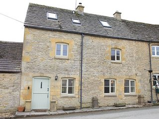Hope Cottage is traditional semi-detached Cotswold stone property in the village