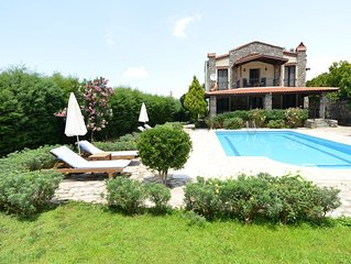 3 bedroom  villa with own pool and large garden in ovacik oludeniz