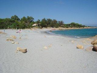 Sardegna , Calaliberotto appartamento  in villa al 1° piano fronte spiaggia