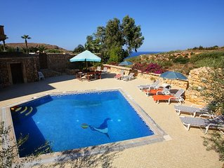 Villa Homedes: Breathtaking Country & Sea Views With Private Pool