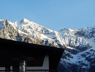 Luminoso appartamento nel centro di Ponte di Legno vicino alle piste da sci