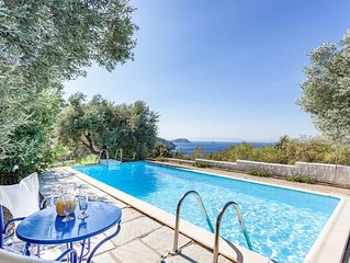 Villa Elaion With Private Pool- Sea Views -villa ideal for couples