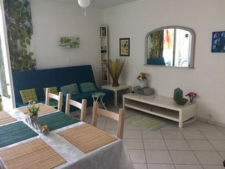 ENJOY YOUR BEACH HOLIDAY 5 PERSON  CLEAN AND AIRY APPT  100 M FROM BEACH