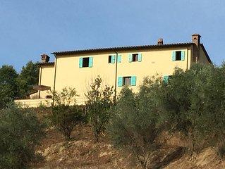 Podere l'Ulivo: tipica Villa Toscana di 400 metri con ampia piscina
