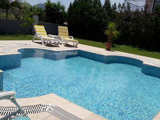 Detached Villa with Private Pool 10 Minutes Walking Distance to the Beach
