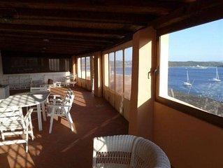 Porto Cervo: -Porto Cervo- trilocale con stupenda vista mare