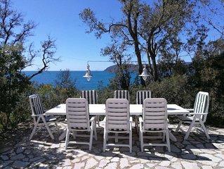 VILLA PINETA - Bellissima Casa Sul Mare con accesso diretto alla spiaggia