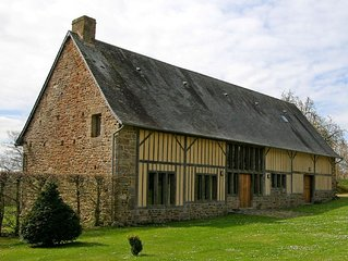 The Barn, Boudet - family friendly luxury accommodation in beautiful Normandy