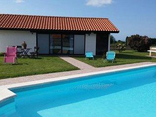 Casa con piscina en Cudillero
