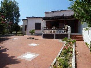 Casa con giardino e terrazza