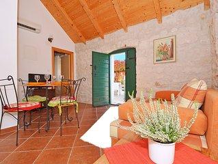 Maison de pierre en la region de Split, calme et paisible lieu avec charme