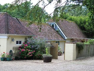 A secluded idyllic converted stables in  a beautiful new forest location Burley