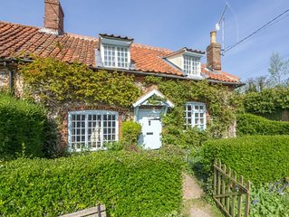This retreat has everything you'd imagine in a traditional old Norfolk cottage.