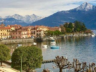 Central Menaggio, 3 Balconies with Lake Views