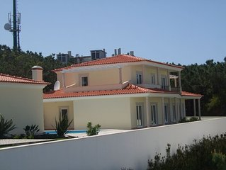 Luxury 4 bedroom Villa with pool, WIFI and stunning Lagoon and Atlantic view