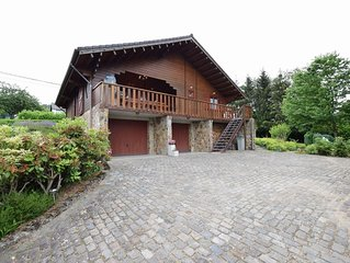 Very spacious chalet near the center of Durbuy
