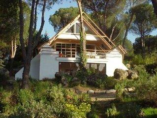 Casa con jardín junto a lago -San Martin de Valdeiglesias (Madrid)