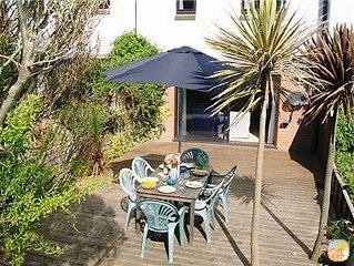 Quality Home on the Beach in unspoilt Seaside Village just 50 m from the Sea