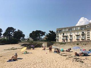 Appartement T1, pointe de Pen Lann, en face de la plage de Billiers