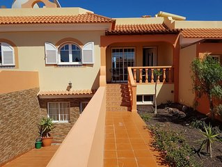 2  bed with roof terrace.