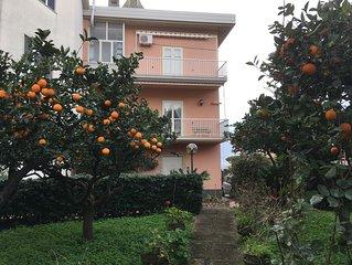 Appartamento a DIAMANTE (150 m dal mare/ giardino/ garage)