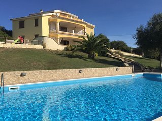 Large villa with private pool and jacuzzi