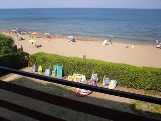 Appartamento fronte mare con accesso diretto alla spiaggia