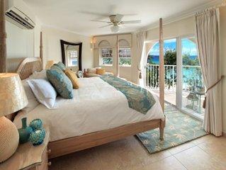 Luxury beachfront unit on the south coast of Barbados