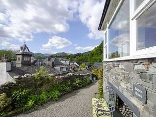 Central Ambleside house,  Salutation spa access,  secure parking for 2 cars, wif