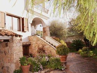Villetta a Cala Gonone, graziosa, fresca e accogliente,  con Wi-Fi!