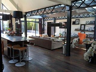 Maison contemporaine centre Deauville. LOCATION A LA SEMAINE UNIQUEMENT