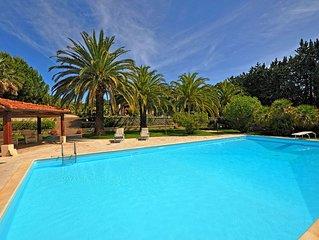 Villa in Marina Di Campo with 5 bedrooms sleeps 10