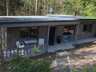 Volledig vernieuwde chalet in 1000 m² bos