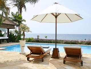 Villa Segara Indah, Lovina strandvilla met privé zwembad bij - maximaal 8 pers