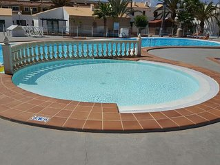 Lovely Apartment In The centre of Caleta 600 Metres To Beach. UK TV, FREE WIFI