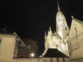 Uniquely set in William's cathedral square